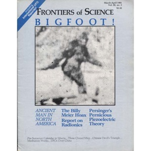 Frontiers of Science (1980-1982) (including IUR)