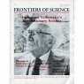 Frontiers of Science (1980-1982) (including IUR) - V 4 n 1 - March/April 1982