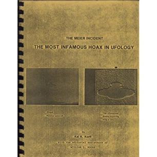 Korff, Kal K.: The Meier incident. The most infamous hoax in ufology.