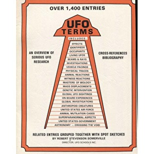 Stevenson Somerville, Robert: UFO terms