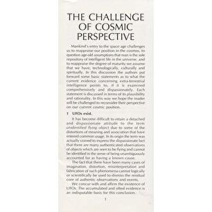 Alexandria Foundation: The challenge of cosmic perspective