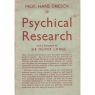 Driesch, Hans: Psychical research: the Science of the super-normal