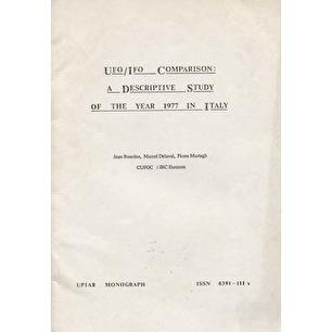 Bourdon, Jean; Delaval, Marcel & Murtagh, Fionn: UFO/IFO comparison: a descriptive study of the year 1977 in Italy