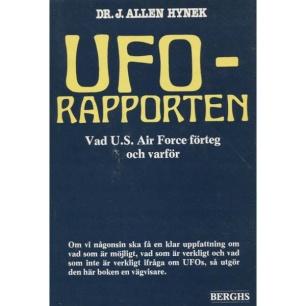 Hynek, J. Allen: UFO-rapporten. Vad USAF förteg och varför