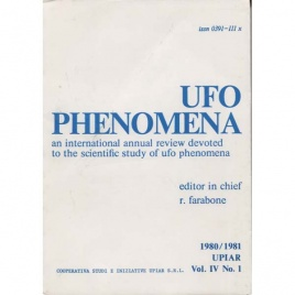 UFO phenomena 1980/81 Vol. IV, N. 1