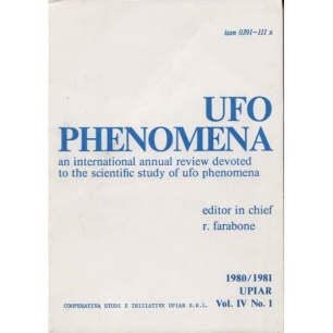 Farabone, Roberto (editor): UFO phenomena 1980/81 Vol. IV, N. 1