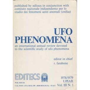 Farabone, Roberto (editor): UFO phenomena 1978/79 Vol. III, N. 1