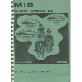 Beckley, Timothy G.: MIB - aliens among us