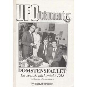 Svahn, Clas & Liljegren, Anders: Domstensfallet. En svensk närkontakt 1958
