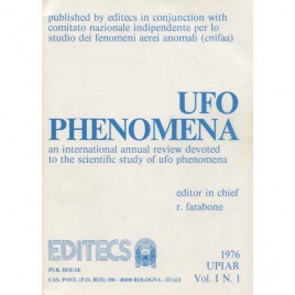 UFO phenomena 1976, Vol. I, N. 1