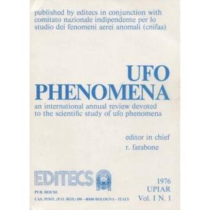 Farabone, Roberto (editor): UFO phenomena 1976, Vol. I, N. 1