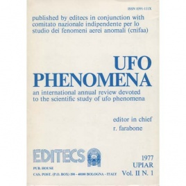 UFO phenomena 1977, Vol. II, N. 1