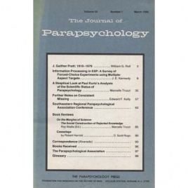 Journal of Parapsychology (the) 1980