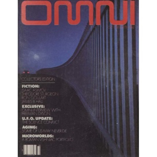 OMNI Magazine 1978 - Vol 1, No 1, October 1978, collector's ed., 178 pages