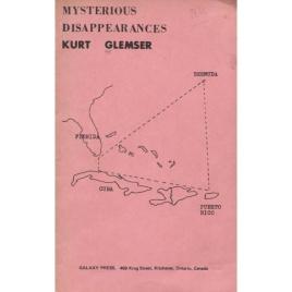 Glemser, Kurt: Mysterious disappearances