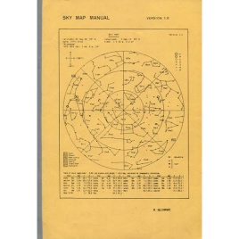 Blomme, Ronny: Sky map manual, version 1.0