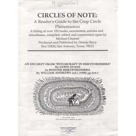 Chorost, Michael: Circles of note. A reader's guide to the crop circle phenomenon