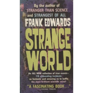 Edwards, Frank: Strange world (Pb)