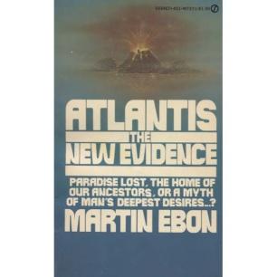 Ebon, Martin: Atlantis the new evidence (Pb)