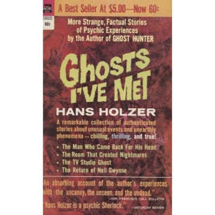 Holzer, Hans: Ghosts I´ve met (Pb)