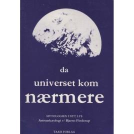 Finderup, Bjarno: Da universet kom nærmere.