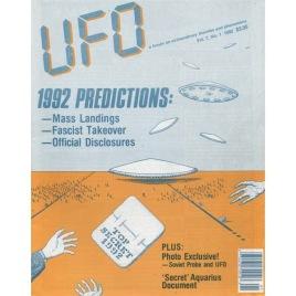 UFO Magazine (Vicky Cooper) 1992-1994