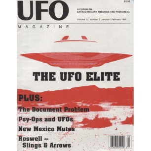 UFO Magazine (Vicky Cooper) 1995-1997 - v 10 n 1 - 1995 Jan/Feb