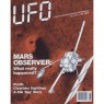 UFO Magazine (Vicky Cooper) 1992-1994 - V 8 n 6 - 1993 Nov/Dec