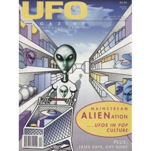UFO Magazine (Vicky Cooper) 1998-1999 - v 13 n 1 - 1998 Dec/Feb