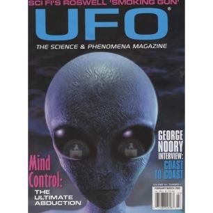 UFO Magazine (Vicky Cooper) 2003-2006 - v 18 n 1 - 2003 Febr/Mar