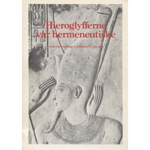 Finderup, Bjarno: Hieroglyfferne var hermeneutiske
