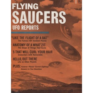Flying Saucers UFO Reports (Dell, 1967) - No. 1