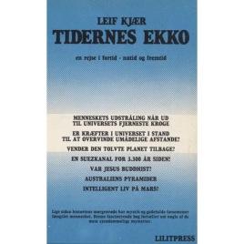 Kjær, Leif: Tidernes Ekko