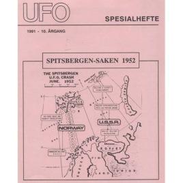 UFO-Norge (ed.): Tidsskriftet UFO Spesialhefte 1991, Spitsbergen-saken 1952