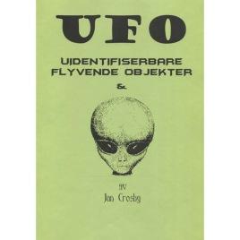 Crosby, Jan: UFO Uidentifiserbare Flyvende Objekter