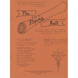 Layne, Meade: The flying roll. (Magazine reprint)