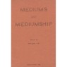 Layne, Meade: Mediums and mediumship. - 2nd printing 1952 - Good with AFU label