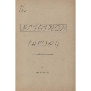 Hilliard, John A.: The metatron theory.