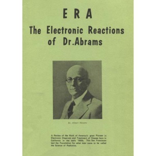 BSRF: E.R.A. - The electronic reactions of Dr. Abrams.