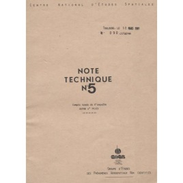 GEPAN: No-090: Note Technique no. 5. Comte rendu de l'enquéte