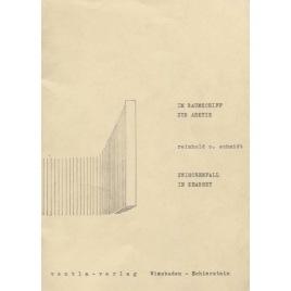 Bericht, von Reinhold O. Schmidt: Im raumschiff zur arktis. Zwischenfall in Kearney