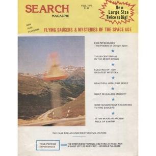 Search Magazine (Ray Palmer) (1976-1991) - 128 - Fall 1976