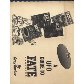 Barker, Gray : A UFO guide to Fate Magazine