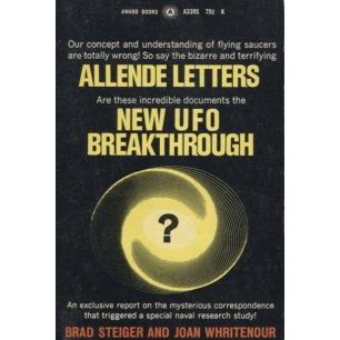 Steiger, Brad & Whritenour, Joan: Allende Letters (Pb) - Good. Ex-owner