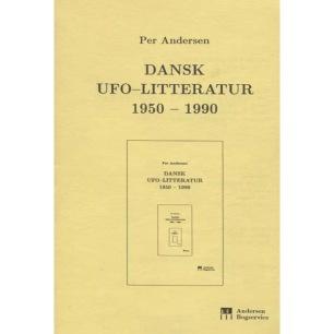 Andersen, Per: Dansk UFO-litteratur 1950-1990