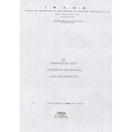 Gaudeau, Claude & Gouzien, Jean-Louis: 1982 Classification des temoins en fonction de leur appartenance a des types psychologiques