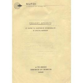 Andersen, Per: Projekt UFODATA ett system till elektronisk databehandling af UFO/IFO rapporter
