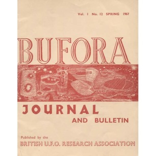 BUFORA Journal  and Bulletin (1964-1967, volume 1)