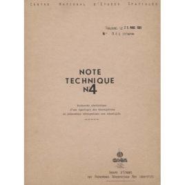 GEPAN: No-085: Note technique no.4.: Recerche statistique d'une typologie des descriptions de phénoménes aérospatiaux non identifiés.