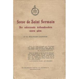 Liander, G. Halfdan: Greve de Saint Germain. Det adertonde århundradets stora gåta